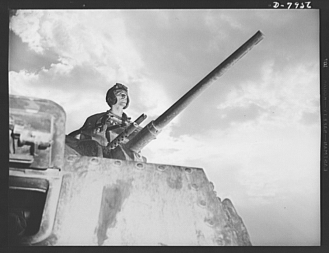 Fort Knox. M-3 tank crews. A good type of soldier mans the M-3 tanks at Fort Knox, Kentucky. The Fort Knox school for tank crews has graduated many men who are now ready to meet the Axis on our far-flung battle lines and on more than equal terms