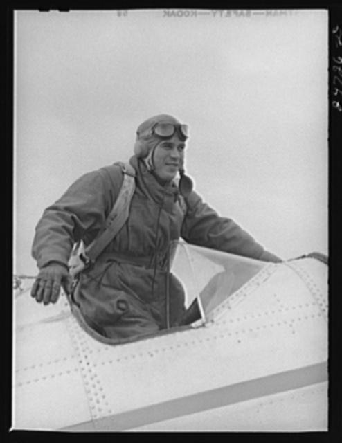 Fort Worth, Texas. Meacham Field. Student pilot