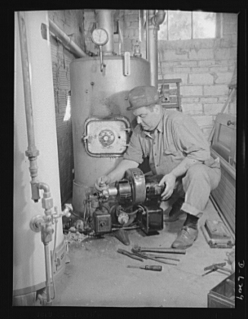 Fuel conservation. Conversion of furnace to coal from oil. In face of the drastic fuel oil shortage in the East and rationing of the supplies which are available, homeowners are urged, where possible, to convert oil burning furnaces to coal. First step is removing the oil burner apparatus