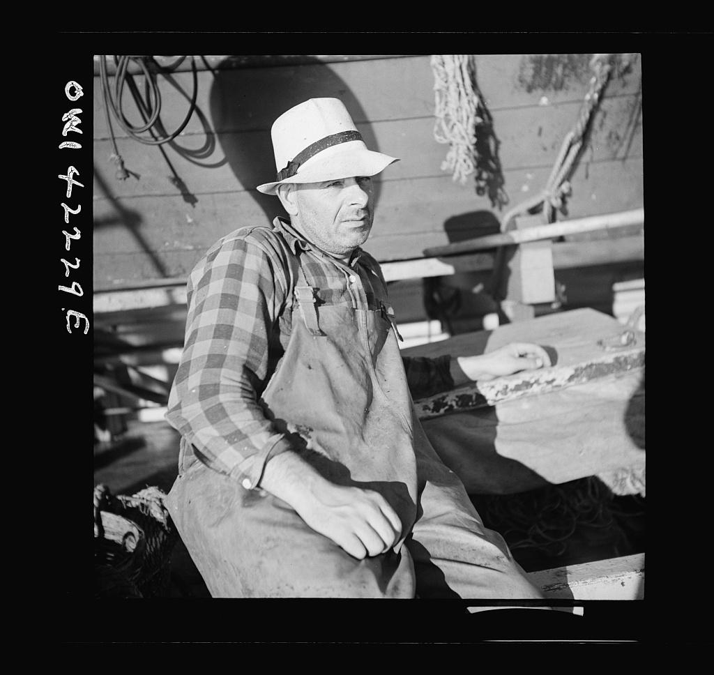 Gloucester, Massachusetts. Portrait of a fisherman