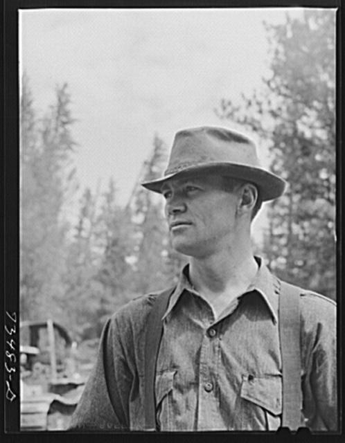 Grant County, Oregon. Malheur National Forest. Lumberjack