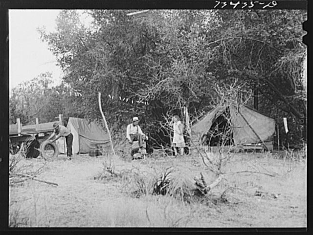 Grant County, Oregon. Prospectors' camp