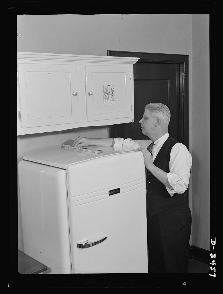 If your refrigerator is a separate unit, see that there is a two-and-a-half-inch clearance between it and the wall behind and at least a seven-inch clearance above