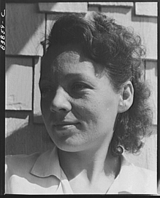 Jewett City, Connecticut (vicinity). Daughter of Estonian farmer