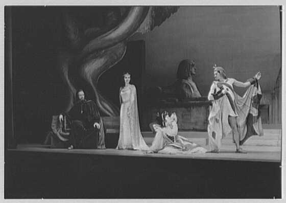 "Juilliard School of Music, 130 Claremont Ave., Bronx. Opera ""Solomon"" cast"