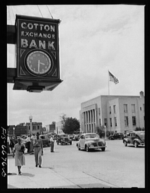 Kennett, Dunklin County, Missouri. Main street
