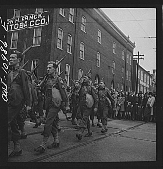 Lancaster, Pennsylvania. Armistice Day parade
