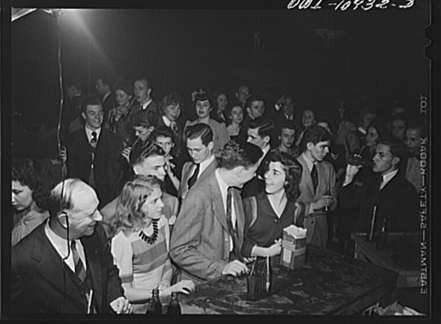 Lancaster, Pennsylvania. Company dance given in Moose Hall by employees of the Hamilton Watch Company so that new employees might get acquainted. Refreshments: coca cola and soda pop during an intermission