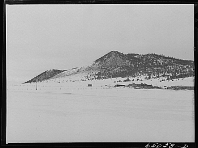 Lewis and Clark County, Montana. Ranch