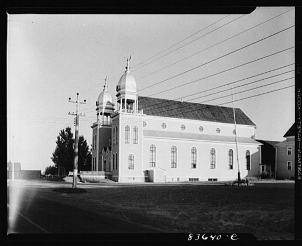 Lille, Maine. Catholic church