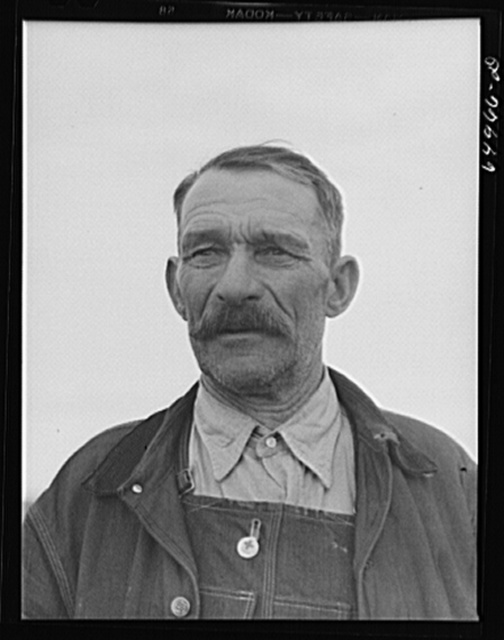McCone County, Montana. Russian-born homesteader and dry land farmer