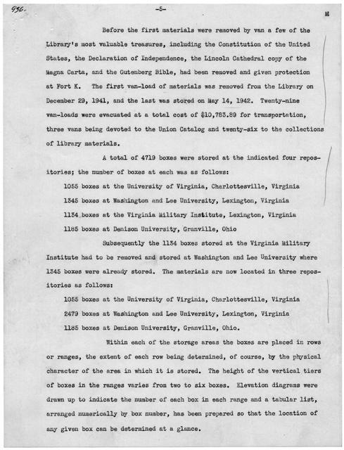 Memorandum from Alvin W. Kremer, October 7, 1942