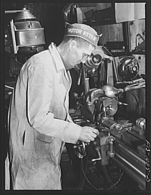 Minneapolis, Minnesota. Bernard L. Lukin, twenty-eight. His mother is Danish, his father is Norwegian. He is working in a small machine shop turning out tools and dies for war plants in the Minneapolis area