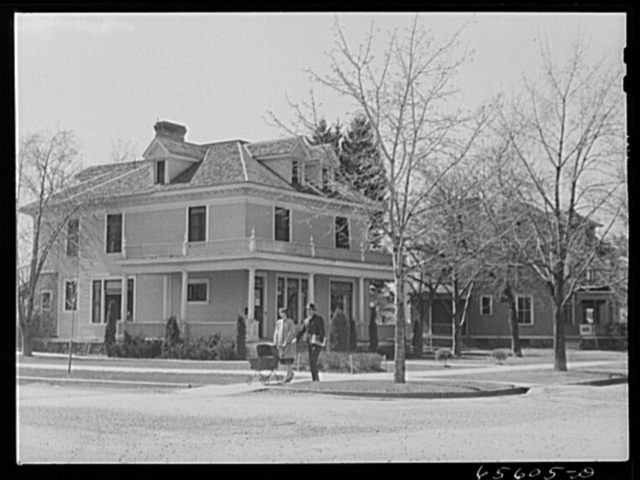 Missoula, Montana. Residential section