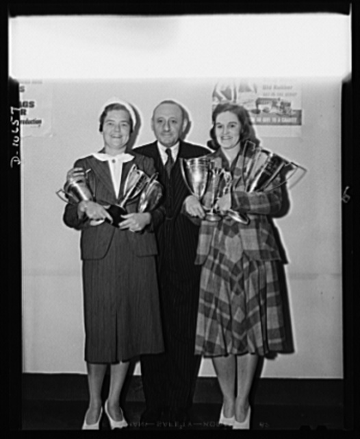 Mrs. McNaughton; Clarence H. Low; and Maureen Orcutt