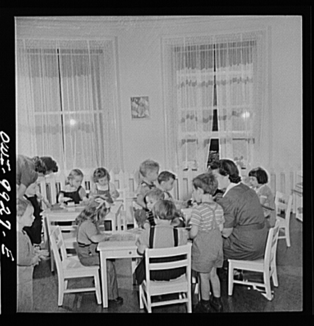 [New York, New York. Children's Colony, a school for refugee children administered by a Viennese]