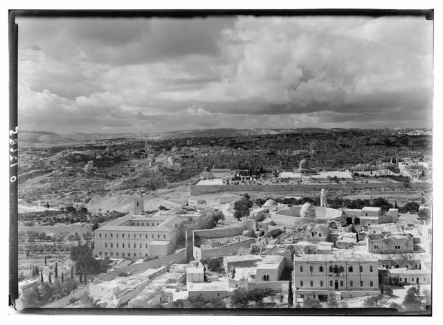 Panorama in two sections, from Olivet