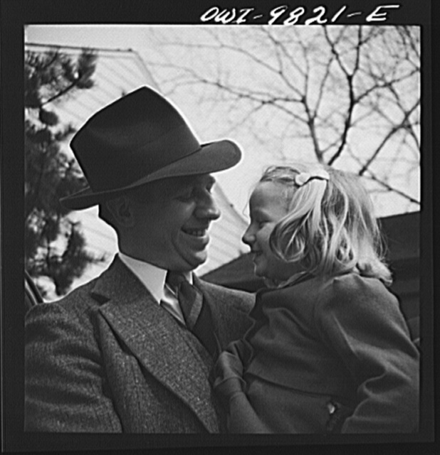 Passaic, New Jersey. Factory owner Carlson organized home machine shops for defense work. Carlson and his youngest daughter