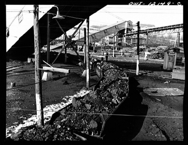 Pittsburgh, Pennsylvania (vicinity). Westland coal mine