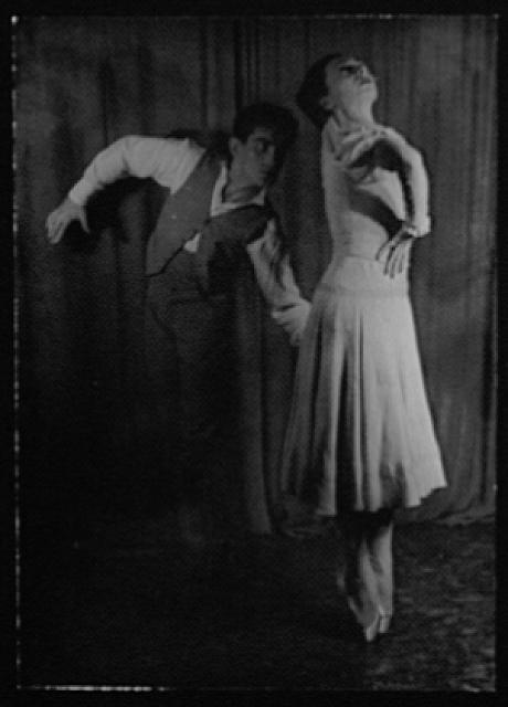 [Portrait of Hugh Laing and Nora Kaye, in Pillar of Fire]