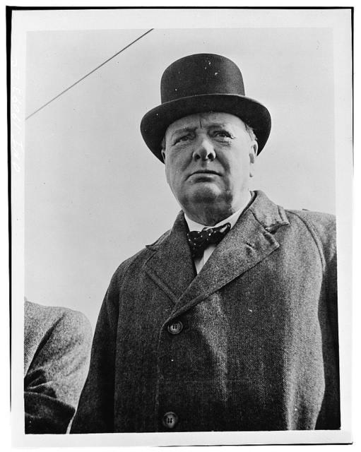 Prime Minister Winston Churchill of Great Britain