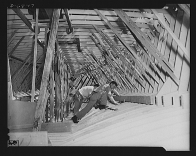 Production. Motor torpedo boats (wooden). Wooden motor torpedo boats for the Navy are built of prefabricated parts and sections in a large Southern shipyard. These fast seventy-eight-footers are built under roof and moved to a nearby waterway for launching and fitting. Higgins Industries