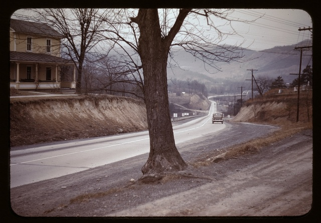 Road out of Romney, West Va.
