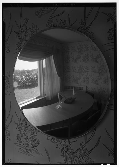 Robert Scott, residence in Vero Beach, Florida. Dining room mirror
