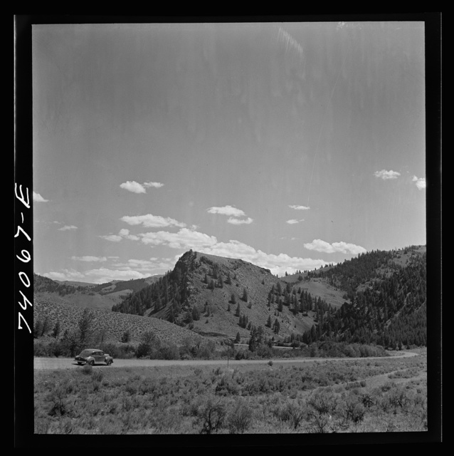 Salmon River Valley in Custer County, Idaho