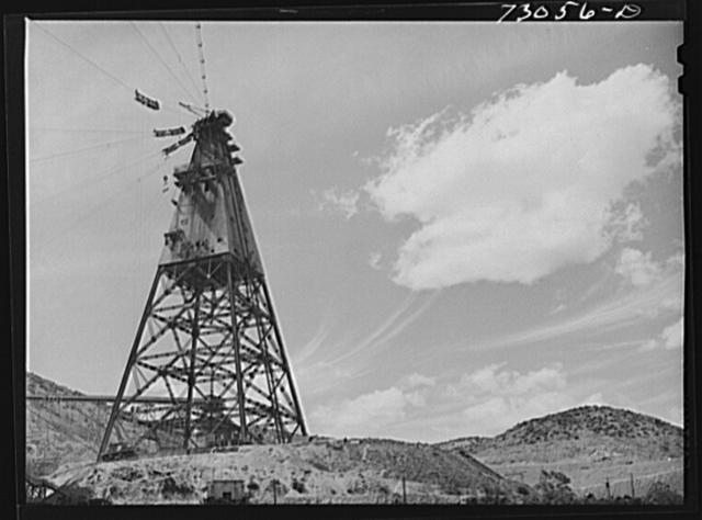 Shasta Dam, Shasta County, California. Head tower