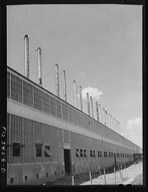 Sheffield, Alabama. Reynolds Alloys Company. The cast house