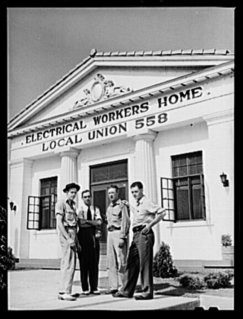 Sheffield, Alabama (Tennessee Valley Authority (TVA)). Union members