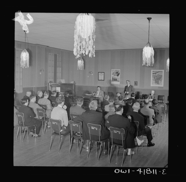 Southington, Connecticut. A meeting