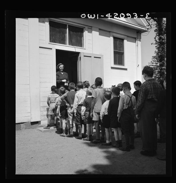 Southington, Connecticut. An one-room school