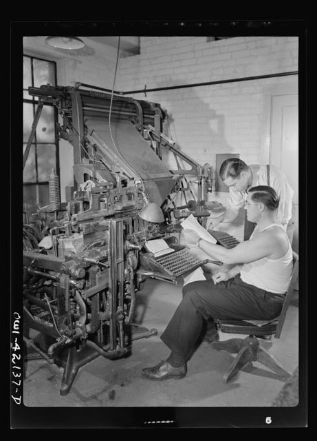 Southington, Connecticut. August L. Loeb, editor of the Southington News