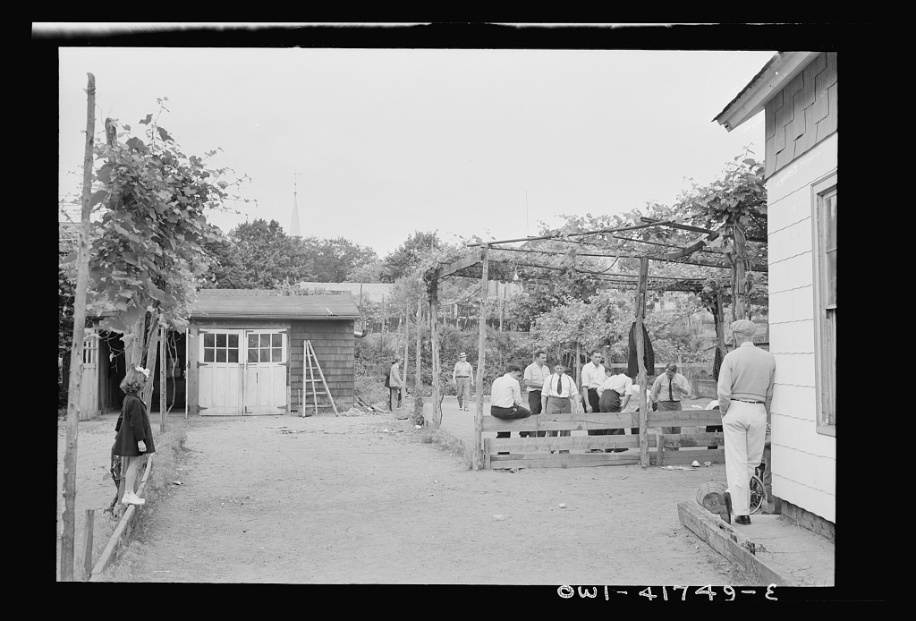 Southington, Connecticut. Bocci, an Italian game somewhat like bowling, is another popular outdoor aport in Southington