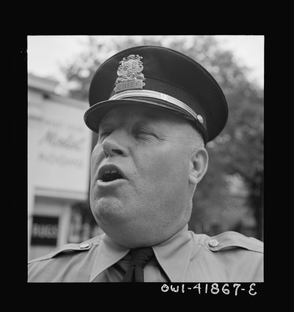 Southington, Connecticut. Chief of police
