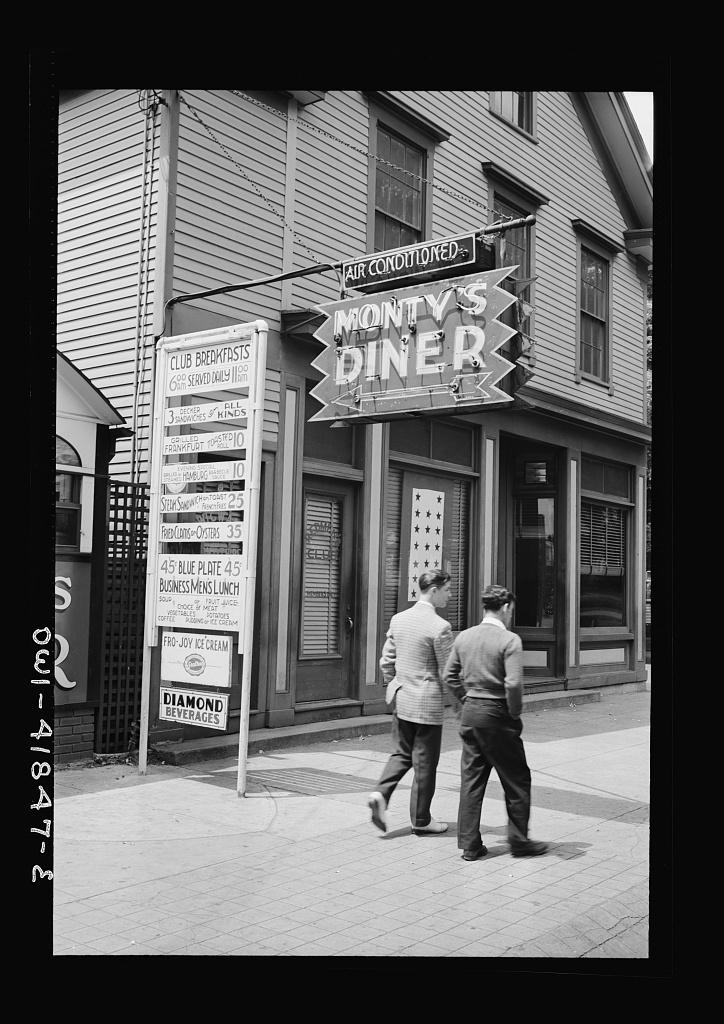 Southington, Connecticut. Monty's Diner