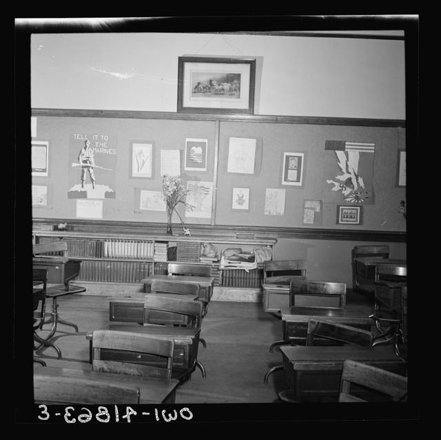 Southington, Connecticut. Schoolroom