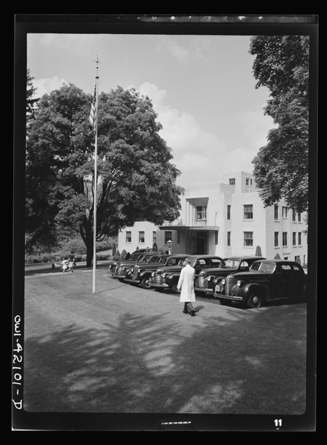Southington, Connecticut. Southington's public Health Center, which has a staff of nurses and doctors and the most modern medical equipment. It is a gift to the town by a public-spirited citizen, Mrs. Julia Arnold Bradley