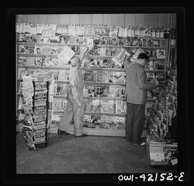Southington, Connecticut. Where Southington folk buy their magazines