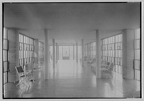 St. Joseph's Hospital, Stamford, Connecticut. Solarium, general