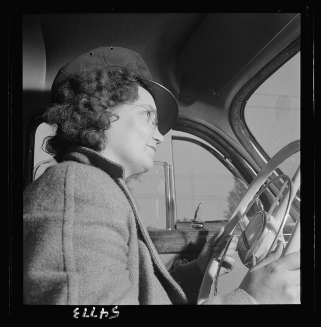 Training women to operate buses and taxicabs