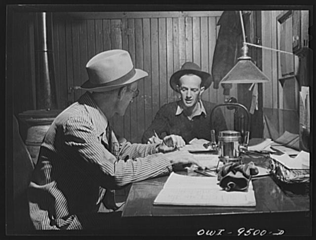 Tulsa, Oklahoma. Yard master's office at the Frisco railroad