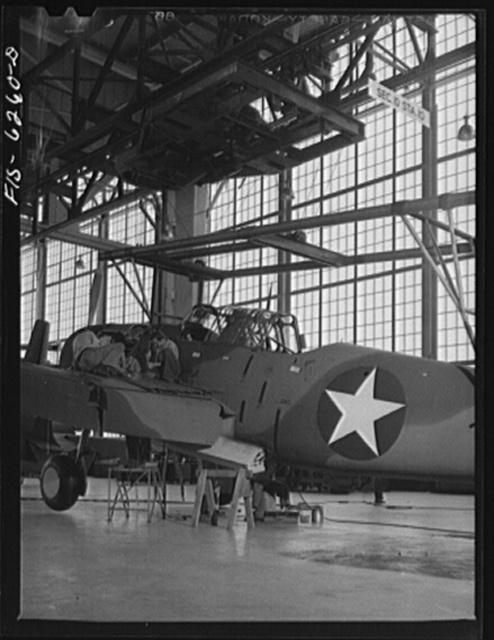 Vultee Aircraft Corporation plant