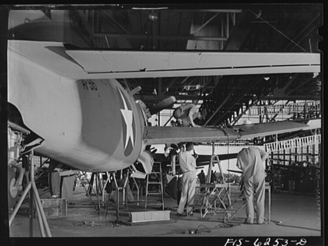 Vultee Aircraft Corporation plant
