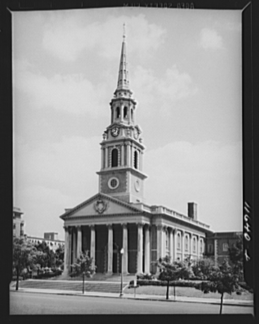 Washington, D.C. Church at 16th Street near Harvard Street, N.W.