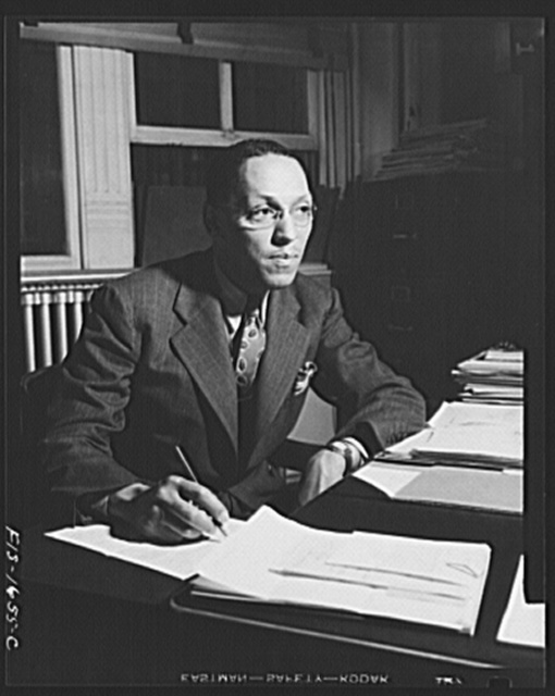 Washington, D.C. Mr. Eugene Holmes of the Department of Philosophy at Howard University
