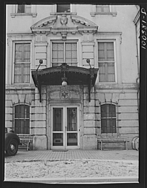 Washington, D.C. Pickwick Arms Residence Club at Massachusetts Avenue and N Street, N.W.