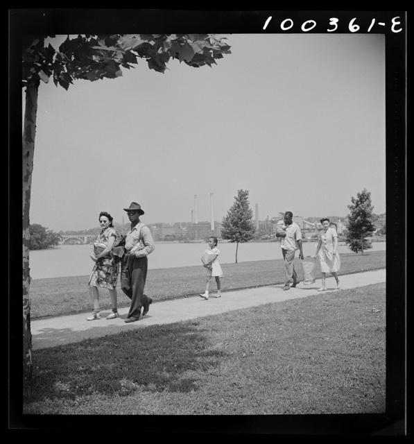 Washington, D.C. Picnickers in East Potamac Park
